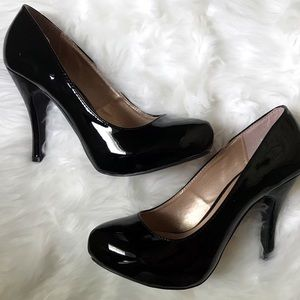 Qupid Black Women heels 8